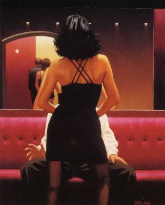 Jack Vettriano. Private dancer