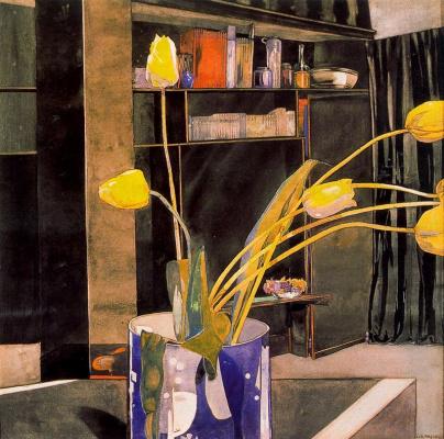 Charles Rennie Mac. Floral motif 1