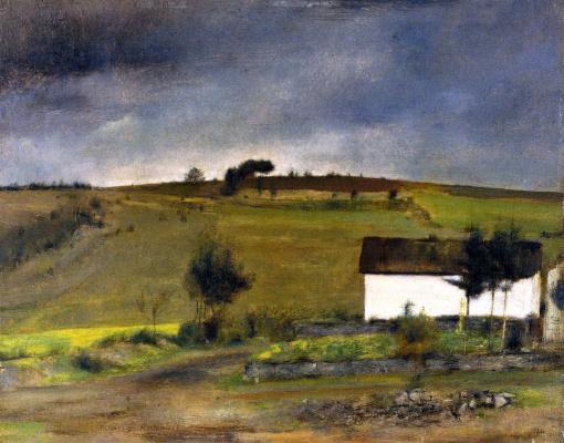 Fernand Khnopff. Rain