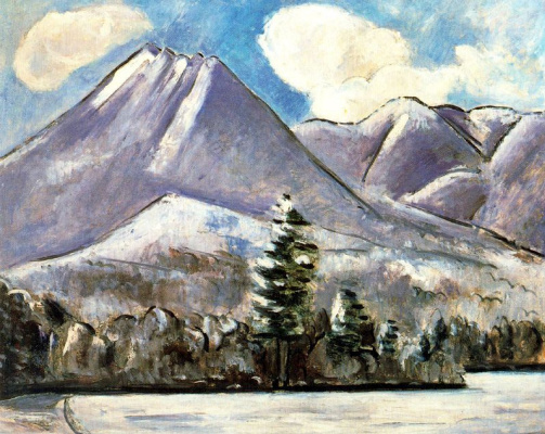 Marsden Hartley. Mountains