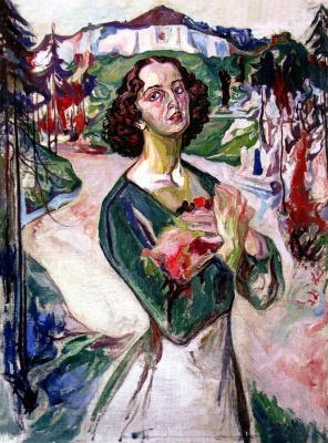 Алексей (Олекса) Новаковский. Spring. Portrait of Gali Golubovskaya