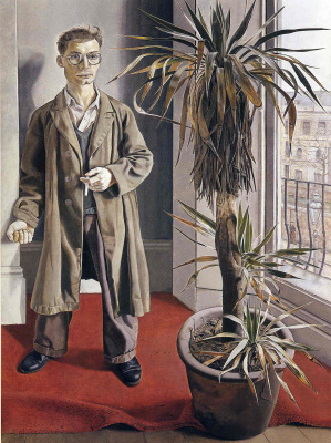 Lucien Freud. Interior at Paddington