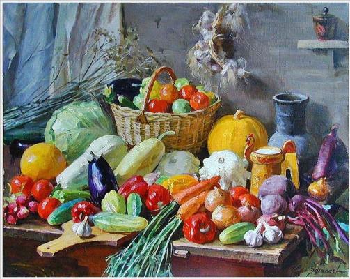 Федор Васильевич Шапаев. Овощи.