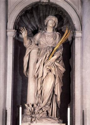 Gian Lorenzo Bernini. Santa Bibiana
