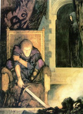 Юлек Хеллер. Сэр Ланселот и Гвиневер