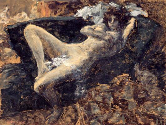 Pierre Bonnard. Blue Nude