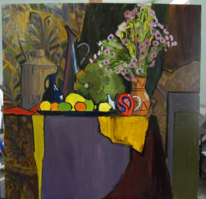"Egor Tagintsev. Decorative still life ""Autumn"""