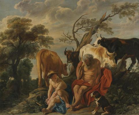 Jacob Jordaens. Mercury and Argus