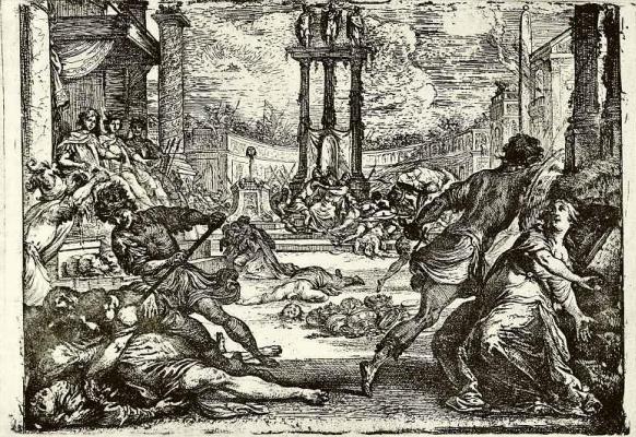 Резня во время правления второго триумвирата