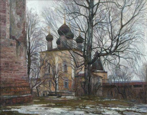 Oleg Borisovich Zakharov. The old walls. Borisogleb.
