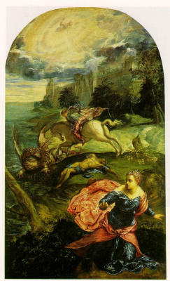Якопо Тинторетто. Святой Георгий и дракон