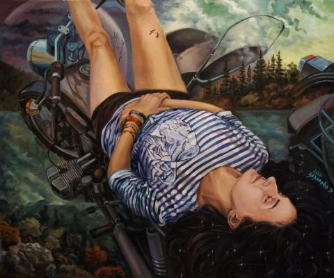 Дария Захарова. Там, где сны её стали