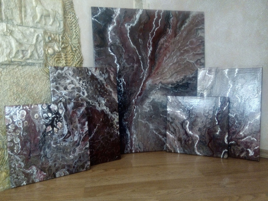 Larisa Vitalievna Brain. Stone history