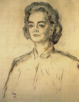 Arturo Souto. Portrait of a woman