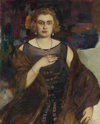 Philip Andreevich Malyavin. Female portrait