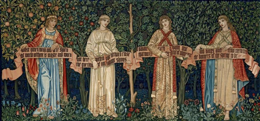 William Morris. Orchard