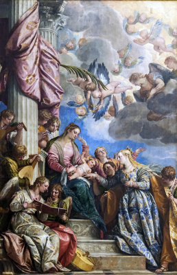 Paolo Veronese. Mystical betrothal of St. Catherine