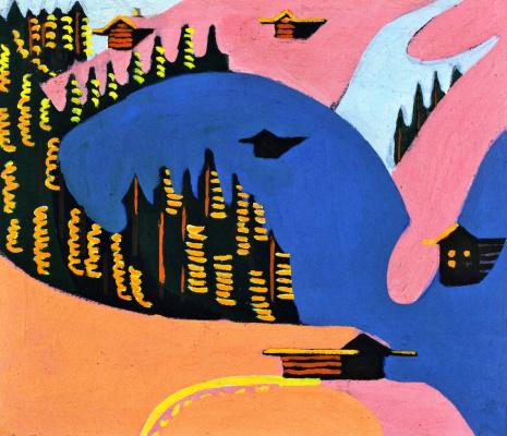 Ernst Ludwig Kirchner. Mountain Unterboden