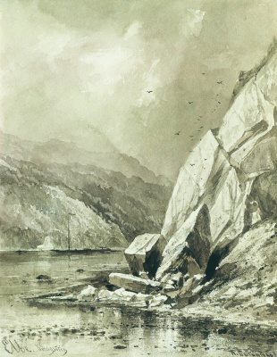 Alexey Petrovich Bogolyubov. Landscape