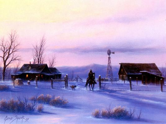 Джин Спекк. Зима