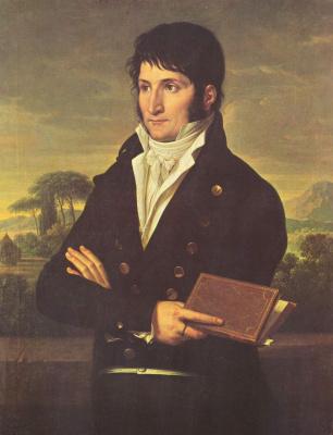 Франсуа-Ксавье Фабр. Портрет Люсьена Бонапарта