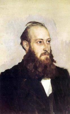 Victor Mikhailovich Vasnetsov. Portrait Of Victor Ivanovich Hoshkevich