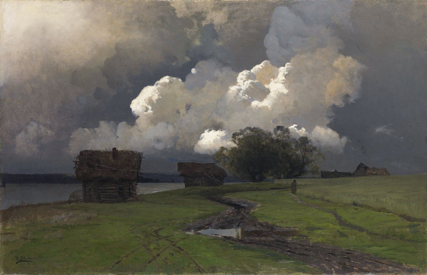 Isaac Levitan. In the vicinity of the Savvino-Storozhevsky monastery