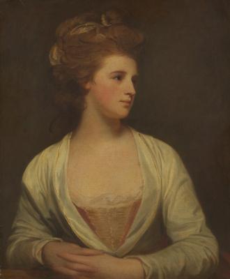 George Romney. Portrait of a young woman (Emily Bertie Pott)