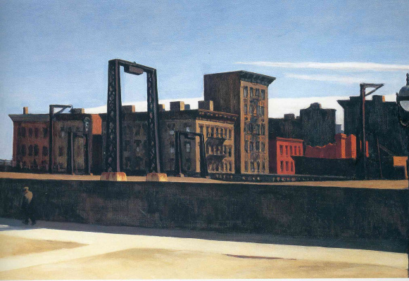 Edward Hopper. Loop Manhattan bridge