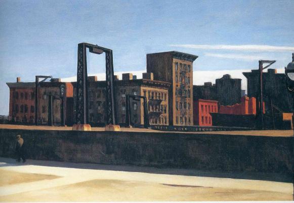Edward Hopper. Loop Manhattan bridge