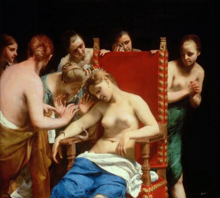 Guido Canyacchi. The Death Of Cleopatra