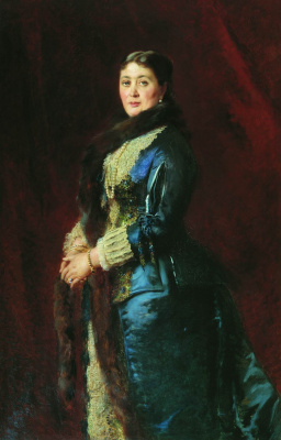 Konstantin Makovsky. Portrait of Countess Maria Yegorovna Orlova-Davydova