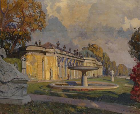 Ivan Grigorievich Myasoedov. View of Sans Souci