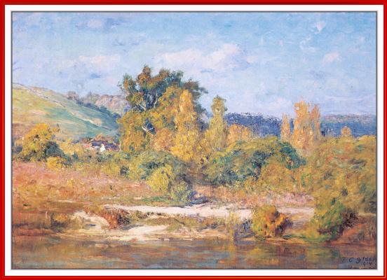 Теодор Климент Стил. Белая река