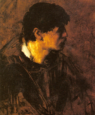 Антуан Воллон. Портрет мужчины