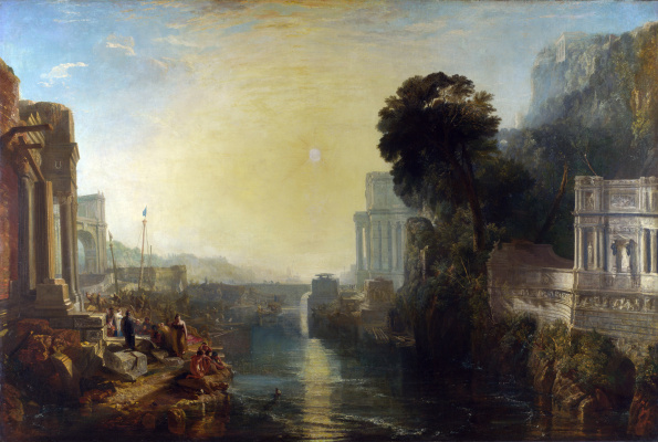 Joseph Mallord William Turner. Dido, founder of Carthage