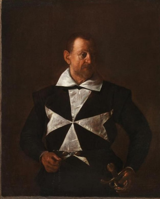 Portrait of a knight of the order of Malta