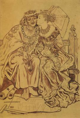 Форд Мэдокс Браун. Медовый месяц короля Рене