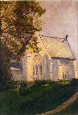 Marcel Duchamp. Church in Blenville