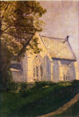 Marcel Duchamp. Church in Blenville
