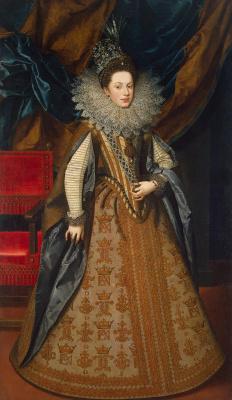 Франс Пурбус Младший. Портрет Маргариты Савойской, герцогини Мантуанской