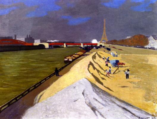 Felix Vallotton. White sand
