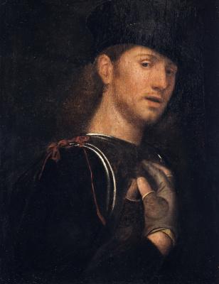 Giorgione. Archer portrait