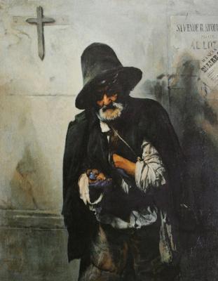 Павел Петрович Чистяков. Римский нищий