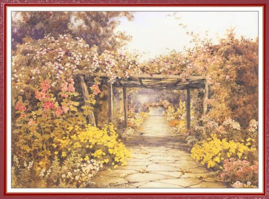 Лилиан Станнард. Цветочный пейзаж