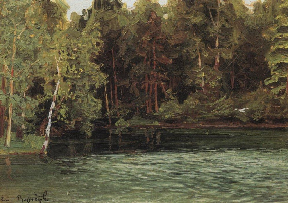 Apollinarius Mikhailovich Vasnetsov. The Royal pond