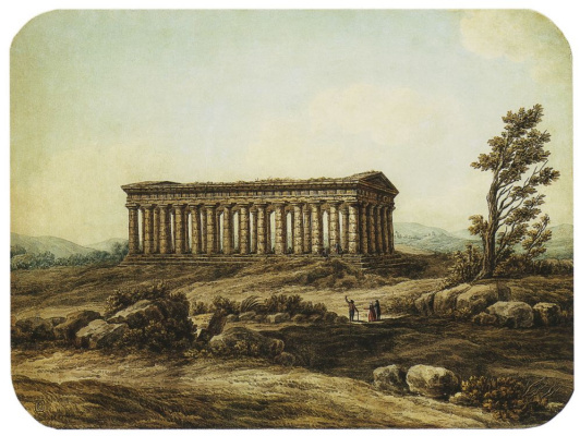 Semen Fedorovich Shchedrin. The temple of Segesta in Sicily