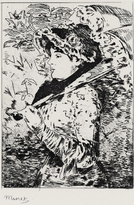 Edouard Manet. Jeanne