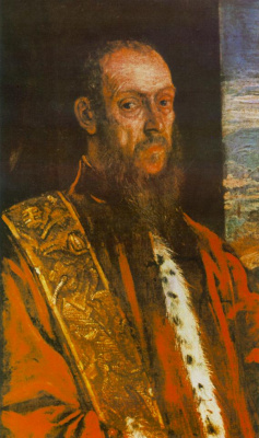 Якопо Тинторетто. Портрет Винченцо Морозини