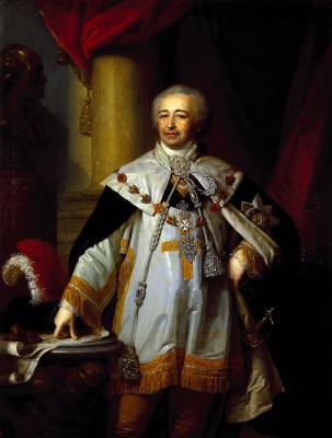 Vladimir Lukich Borovikovsky. Prince Kurakin